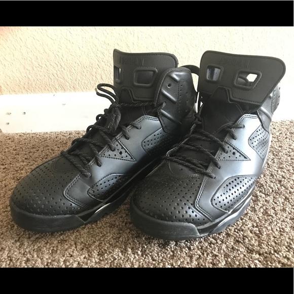 half off 9e29b 25679 Nike Shoes | Air Jordan Black Cat 6s Mens Size 12 | Poshmark